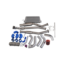 1JZ-GTE-VVTI 1JZ Engine Swap Kit Intercooler Downpipe Catback For 240SX S13 S14