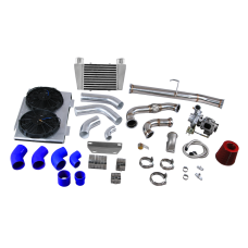 Turbo Downpipe Intercooler Upgrade Kit for 83-90 Land Rover Defender 90 110