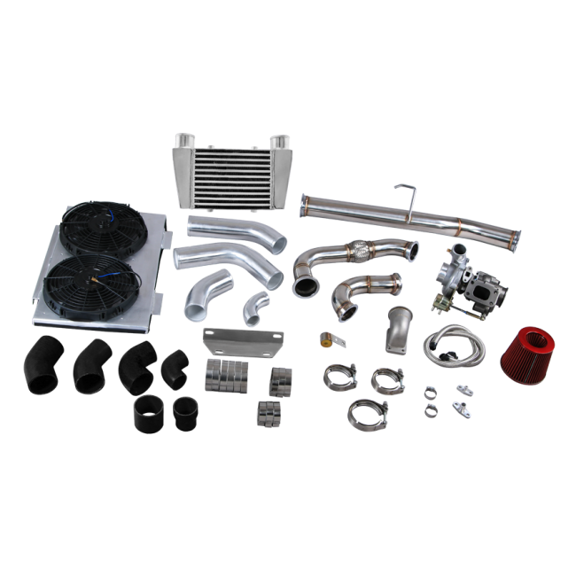 Turbo Downpipe Intercooler Upgrade Kit For 83