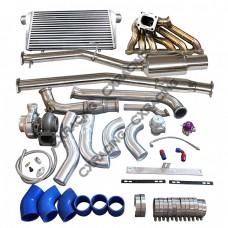 Turbo Manifold Downpipe Catback Intercooler Piping For Cressida MX83 2JZ-GTE 2JZGTE