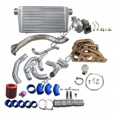 GT35 Turbo Intercooler Manifold Kit For 98-05 Lexus GS300 2JZ-GE Engine NA-T