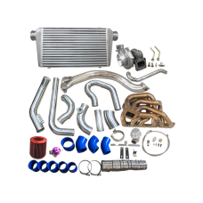 GT35 Turbo Intercooler Manifold Kit For 98-05 Lexus GS300 2JZ-GE Engine NA-T