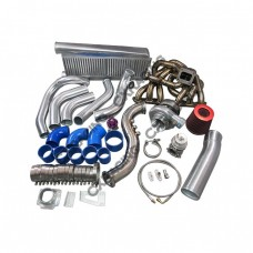 T70 Turbo Kit For Lexus SC300 2JZGE 2JZ-GE Manifold Intercooler Downpipe BOV