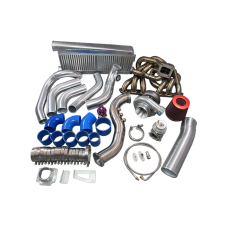 GT35 Turbo Kit For Lexus SC300 2JZGE 2JZ-GE Manifold Intercooler Downpipe BOV