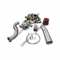 T70 Turbo Kit For Lexus SC300 2JZGE 2JZ-GE Manifold Downpipe BOV Wastegate