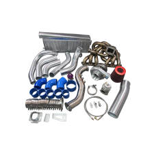 T70 Turbo Kit For Lexus SC300 2JZGE 2JZ-GE Manifold Intercooler Downpipe BOV