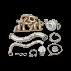 Turbo Manifold Downpipe Kit for 93-02 Toyota Supra MK4 2JZGE 2JZ-GE