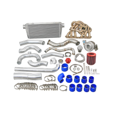 Turbo Intercooler Kit for 93-02 Toyota Supra MK4 2JZGE NA-T 2JZ-GE