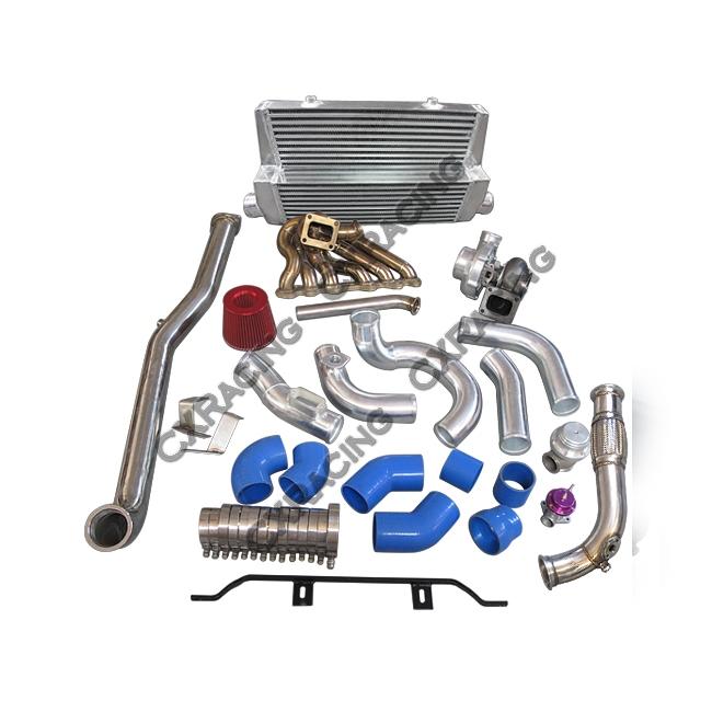 Turbo Kit For Lexus IS300 2JZGTE 2JZ-GTE Swap Intercooler Manifold