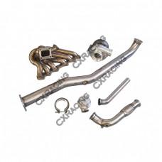 Turbo Kit For Lexus IS300 2JZGTE 2JZ-GTE Swap Manifold Manifold Donwpipe WG