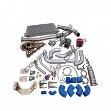 Turbo Kit For 2JZGTE 2JZ 240SX S13 S14 Intercooler Motor Trans Mount