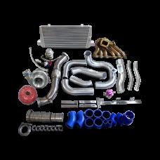 Single Turbo Intercooler Manifold Downpipe Kit For SC300 2JZ-GTE Swap 2JZGTE