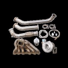 Top Mount Turbo Manifold Kit For 97-05 Lexus GS300 2JZ-GTE Engine 2JZGTE