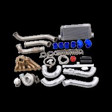 Single Turbo Manifold Intercooler Piping Kit For 97-05 Lexus GS300 2JZ-GTE 2JZGTE