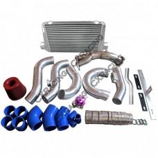 Downpipe Intercooler Turbo Intake Radiator Hard Pipe Kit For 2JZ-GTE GS300 2JZGTE