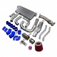 Intercooler Turbo Intake Radiator Piping Downpipe For SC300 2JZ-GTE 2JZGTE