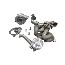 T3 T04E Turbo Manifold Downpipe For Corolla AE86 with 4AGE Engine
