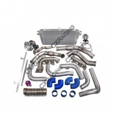 Turbo Kit intercooler Manifold Downpipe for 95-04 Tacoma 5VZFE 5VZ-FE 5VZ