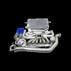 Turbo Intercooler Piping Kit Manifold For 1986-1992 Supra 7MGTE MK3