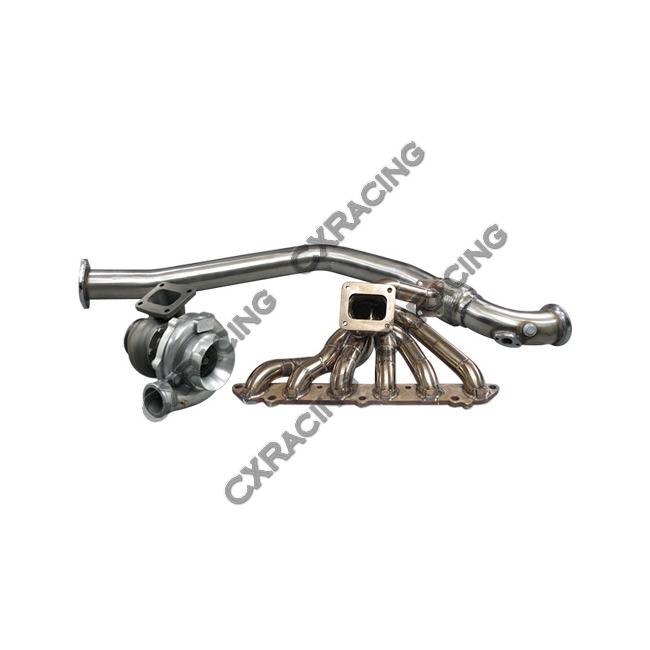 turbo manifold downpipe intercooler piping kit for 86