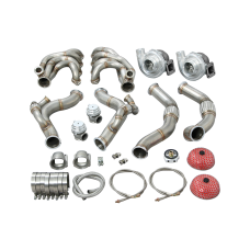 Twin Turbo Manifold Downpipe Kit for 67-69 Camaro With BBC Engine Swap