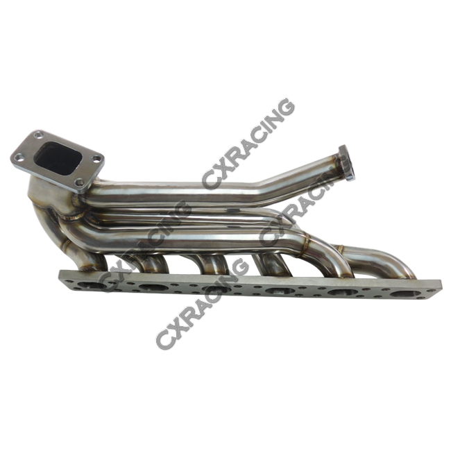 Top Mount GT35 Turbo Kit Manifold Downpipe Intercooler For