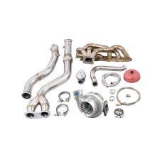 Turbo Manifold Downpipe Kit For BMW E46 M3 with S54 Engine