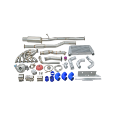 New Version Turbo Manifold Intercooler Catback For 84-91 BMW E30 3-Series M20