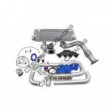 Turbo Kit For 1996-2000 Honda Civic EK B16 B18 B20 Cast Manifold Oil Return Line