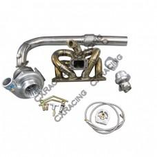GT35 Turbo Kit RAM Thick Manifold For Civic Integra B18 LS GSR B-Series EK
