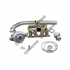 T04E Turbo Kit RAM Thick Manifold For Civic Integra EK B18 LS GSR B-Series