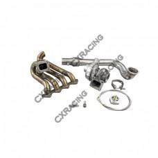GT35 T4 Turbo Charger Kit For Civic Integra EF EG EK B-Series Top Mount