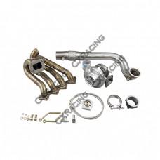 GT35 Turbo Kit For Civic Integra EF EG EK B-Series Top Mount Manifold 11 gauge