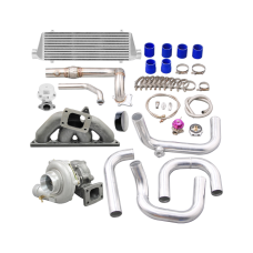 Turbo Manifold Downpipe Intercooler For 94-00 Integra 92-00 Civic B18 B20 Engine