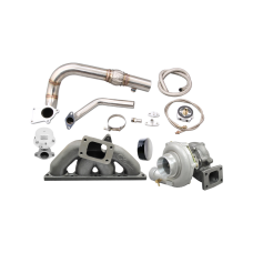 Turbo Manifold Downpipe For 94-00 Integra 92-00 Honda Civic B18 B20 Engine