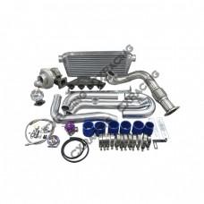 Turbo Intercooler kit For Civic EK Si B 96-00 Keeps AC PS