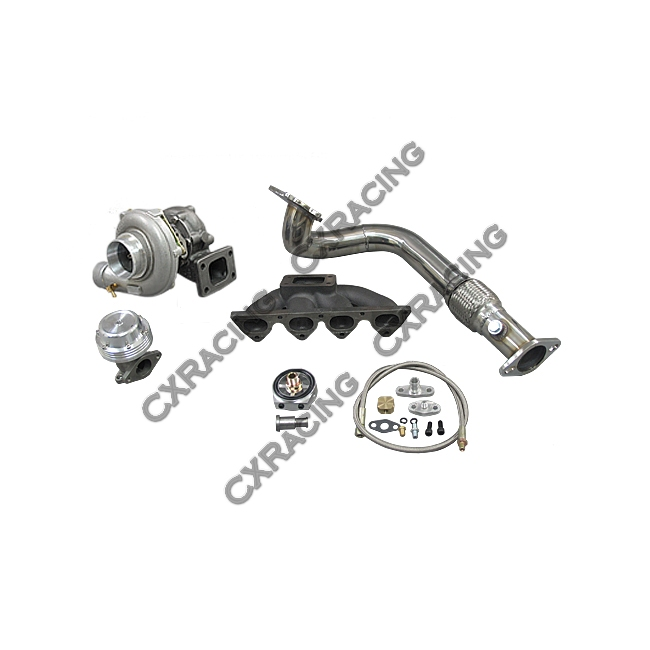 Turbo Manifold Downpipe For 96 00 Honda Civic Ek B16 B18
