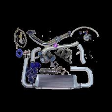 TURBO KIT FOR Honda Civic Integra B-Series B16 B18 with Oil Return Line
