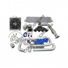 Turbo Intercooler Radiator Kit For 96-00 Honda Civic EK B16 B18 B20 B-Series