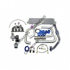 Turbo Intercooler Kit For 92-00 Honda Civic D15 D16 D Cast Manifold