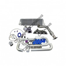 Turbo Intercooler Kit For 92-00 Honda Civic with D15 D16 D-Series SOHC Engine