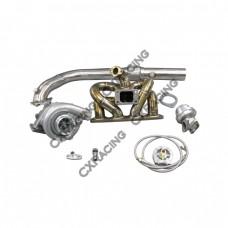 T04E Turbo Kit For Civic D15 D16 D-Series EK EG DC2 RAM Thick Manifold