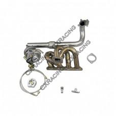 T28 Turbo Kit Thick Manifold For Civic D15 D16 D-Series EK EG DC2