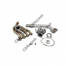 T67 T4 Turbo Charger Kit Top Mount Manifold For Civic D15 D16 D-Series