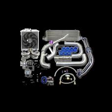 Turbo Intercooler Kit For 1988-2000 Honda Civic B16 B18 B-SERIES