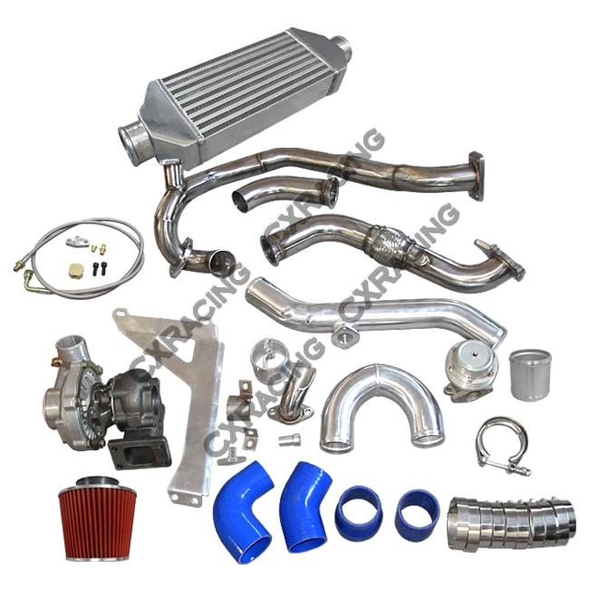 Turbo Intercooler Piping Wastegate BOV Kit for 76-86 Jeep CJ 7 5 6 8 4 2