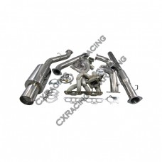 T04E Turbo Manifold CatBack Downpipe Kit For Datsun 510 SR20DET