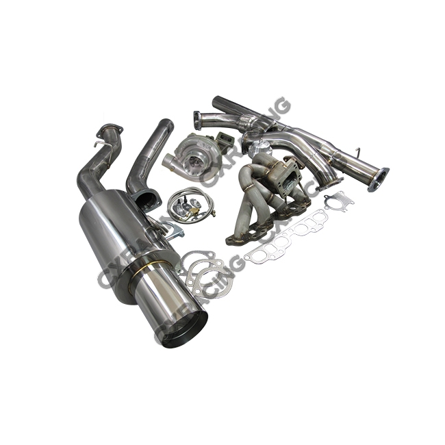 T04E Turbo Manifold CatBack Downpipe Kit For Datsun 510 ...