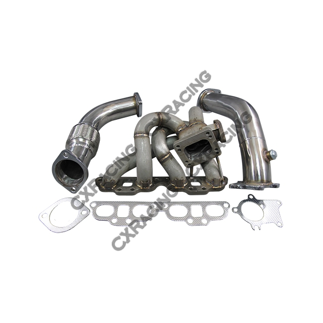 top mount t04e turbo manifold downpipe for datsun 510