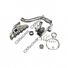 GT35 Turbo Downpipe Catback kit For 84-91 BMW 3-Series E30 325 Bolt on